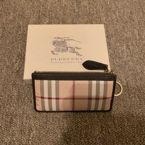 Burberry Checkered Wallet
